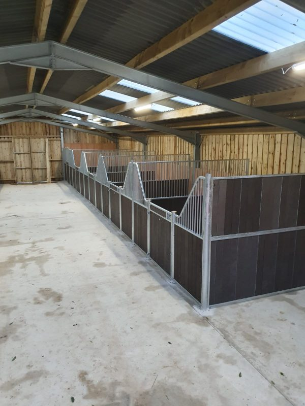 Internal Horse Stables in Fontainbleau Recycled Plastic