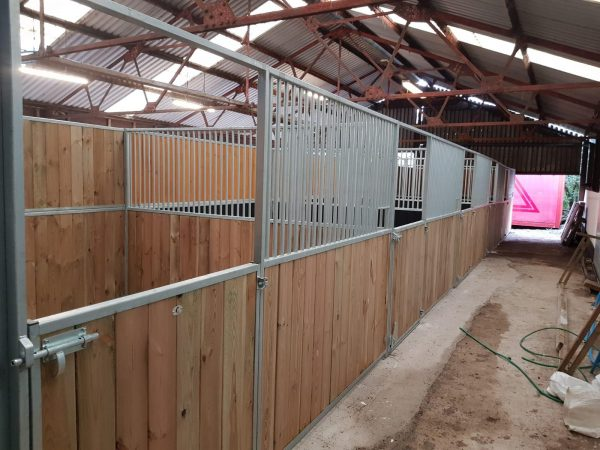 Internal Stables in large barn