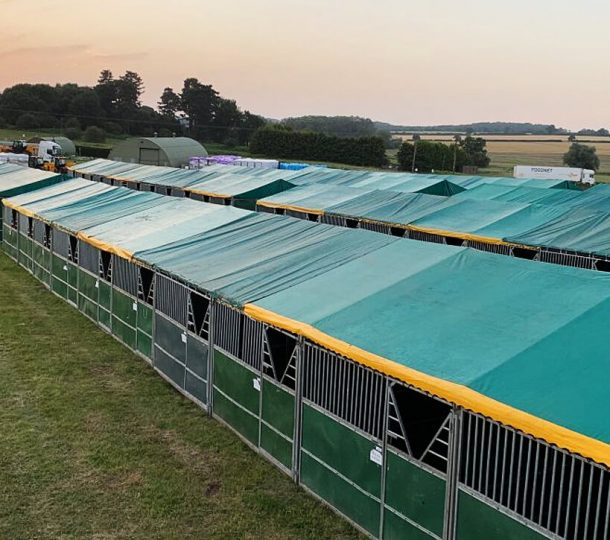 Temporary Stables