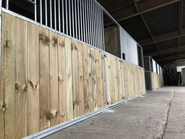 Internal Stables - fitted into a barn