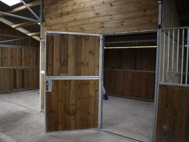 full board horse stable door