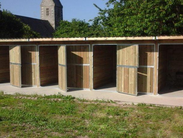 Timber Stables - doors open