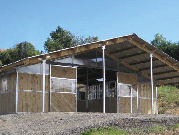 American Barn Horse Stable block