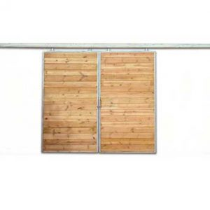 standard sliding barn door