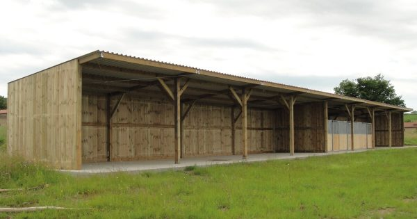 Large timber stable block