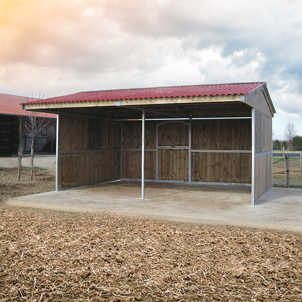 Field shelter - front view