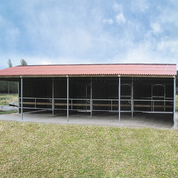 Horse stable block